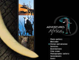 Christian Adventures Africa website